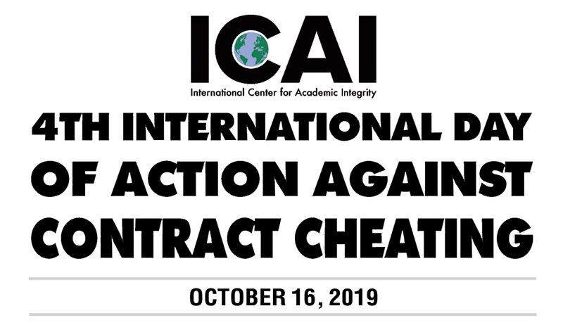2019 International Day of Action Against Contract Cheating
